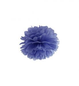 Pom Pom bollar 20cm mörkblå