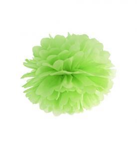 Pom Pom bollar 20cm Lime grön