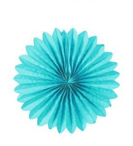 Solfjädrar Hängande dekoration 20cm Turkosblå