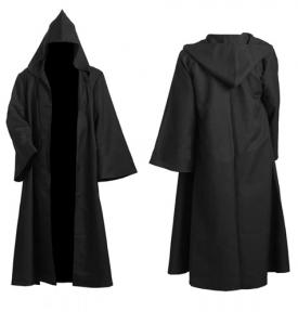 Uthyrning Star Wars Jedi Knight Cape Svart