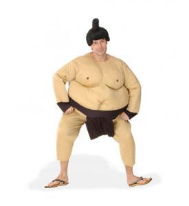 Uthyrning Sumo Maskeraddräkt