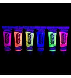 UV glitter bodygel