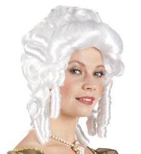 Marie Antoinette Vit Peruk