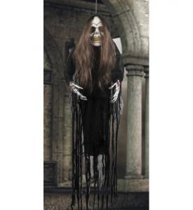 Zombie Kvinna Hängande Dekoration 170cm