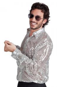 Disco Skjorta Silver M/L