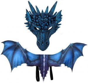 Drak set blå drake
