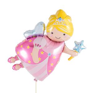 Rosa fe heliumballong