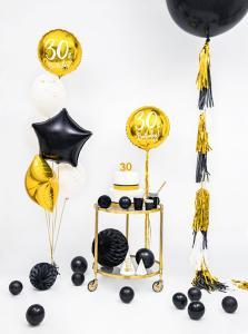 Heliumballong Guld 30år