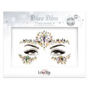 Dekorationsstenar Ansikte Disco Divas