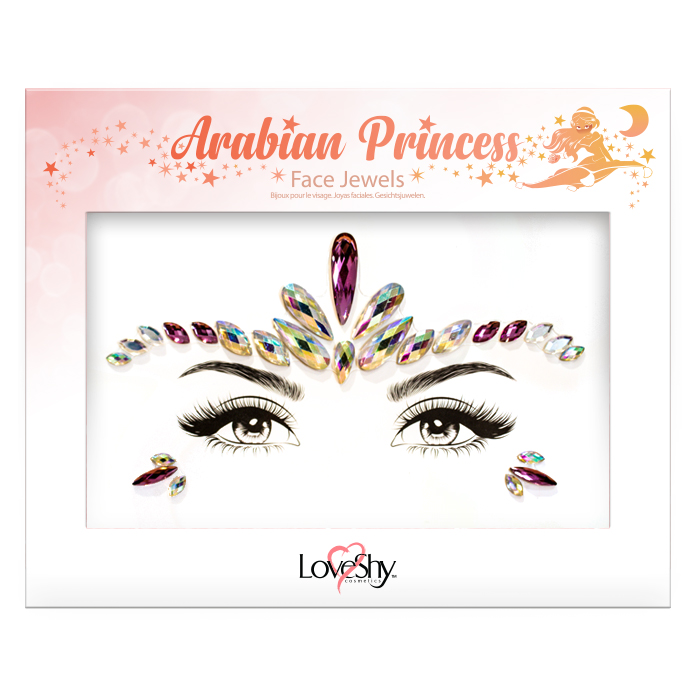 Dekorationsstenar Ansikte Arabia Princess