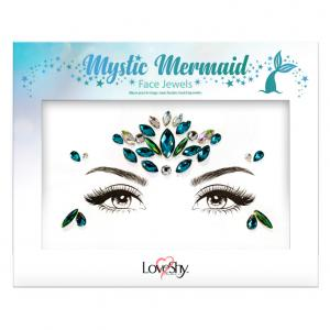 Dekorationsstenar Ansikte Mystic Mermaid