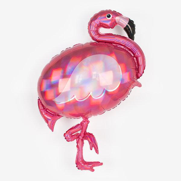 Flamingo Heliumballong holografisk