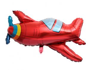 flygplan heliumballong