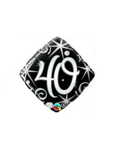 Folie ballong prisma 40