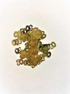 Konfetti 50 år guld