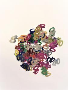 Konfetti 40 år multicolor