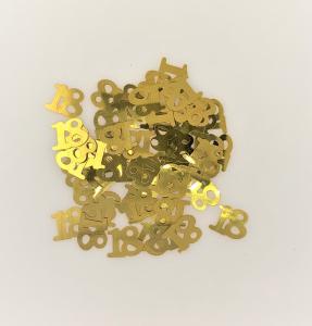 Konfetti 18 år guld