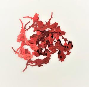 Konfetti Röda rosor