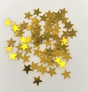 Konfetti stjärna guld små