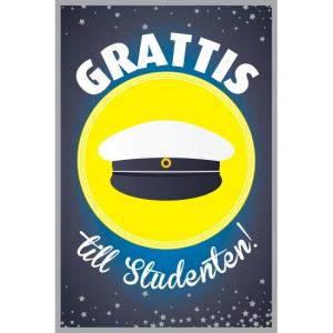 HANDGJ. EXAMEN 'GRATTIS till Studenten!