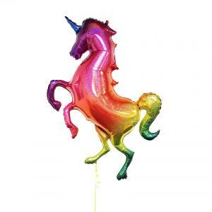 Glitter Enhörning Heliumballong