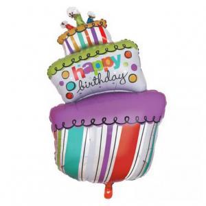 ballong födelsedag tårta fest