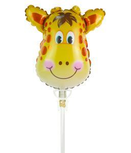 Mini ballong giraff på pinne