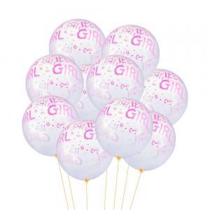 Latexballonger 100-pack its a girl rosa