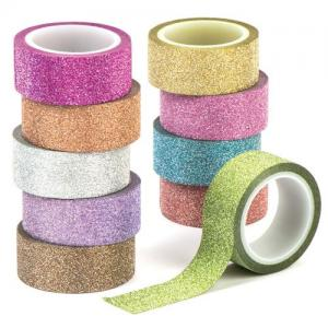 Washi Glittertejp 10-pack