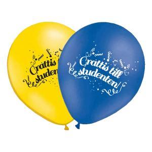 grattis till studenten latexballonger