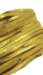 glitter Dörrdraperi guld stjärnor