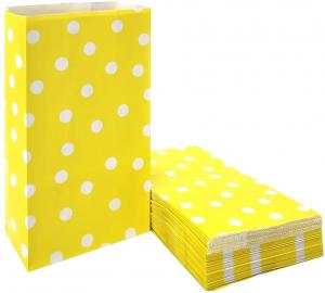 gul polkadot Godispåse