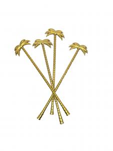 Guld drinkpinnar palm