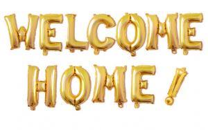 welcome home! girlang guld
