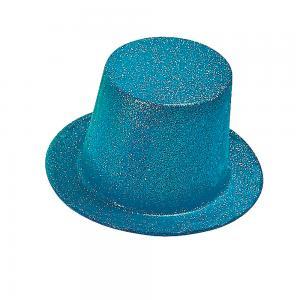 Tophatt neon blå