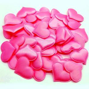 mjuk konfetti hjärta cerise