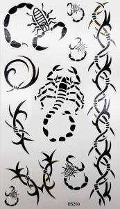 Tatuering skorpioner
