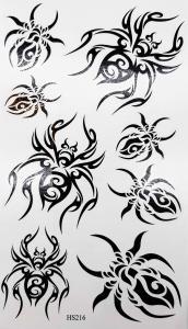 Tatuering tribal spindlar