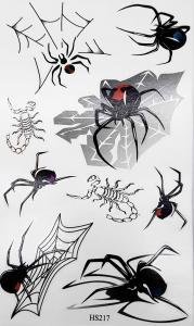Tatuering svarta änkor