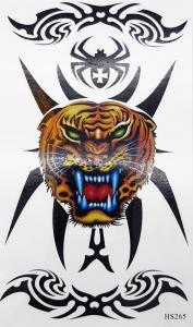 Tatuering tiger tribal