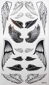 Tatuering vingar