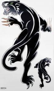 Tatuering black panther