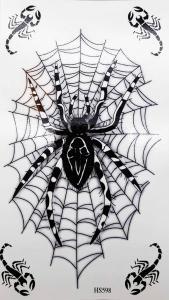 Tatuering tarantula och skorpioner