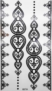Tatuering henna indie