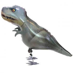 Gående dinosaurie t-rex