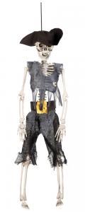 Skelett pirat hängande dekoration