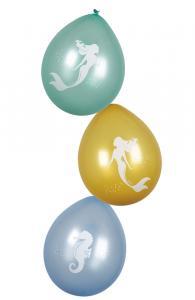 Sjöjungfru ballonger