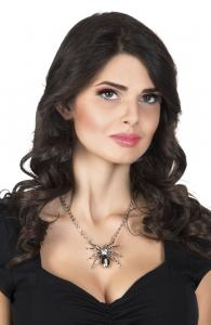Halsband Svarta änkan