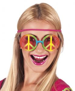 Glasögon Party hippie