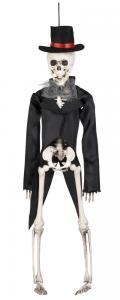 Skelett brudgum hängande dekoration